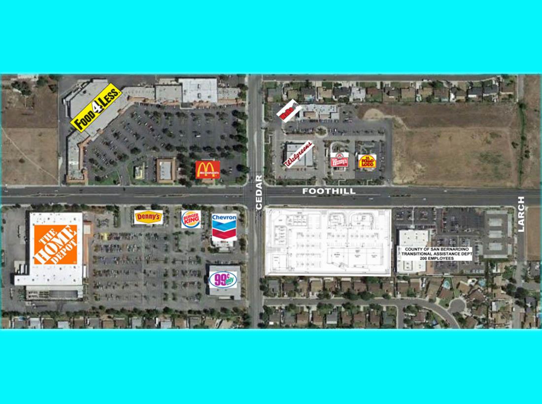 CEDAR HILLS PLAZA - SEC Foothill Blvd  & Cedar Ave , Rialto, CA