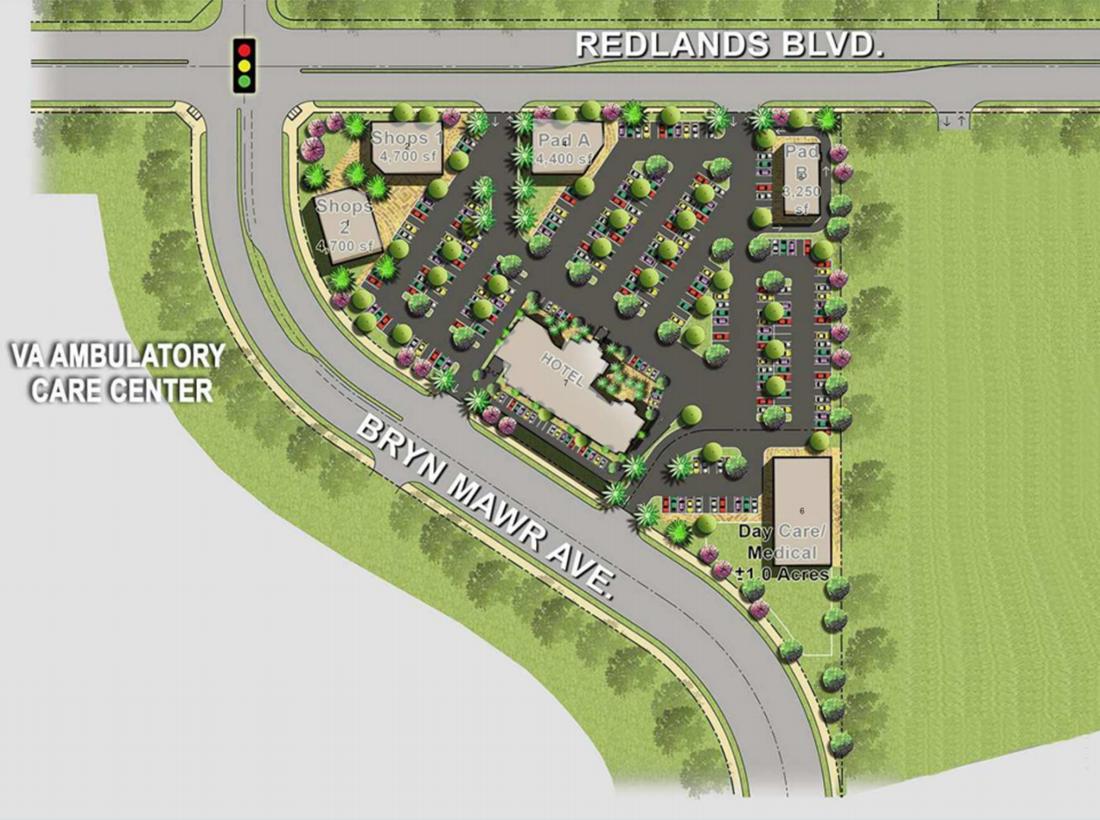 UNIVERSITY VILLAGE - Redlands Blvd  and BryaMawr Ave , Loma